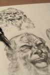 Disegnando…